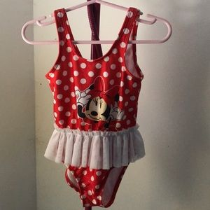 Disney Baby Girl Minnie Mouse Bathing Suit